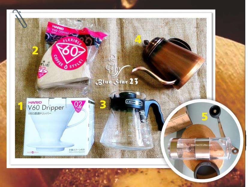 手沖咖啡工具, HARIO V60